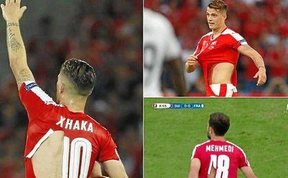 Se llegaron a romper hasta siete camisetas durante el partido ante Francia.