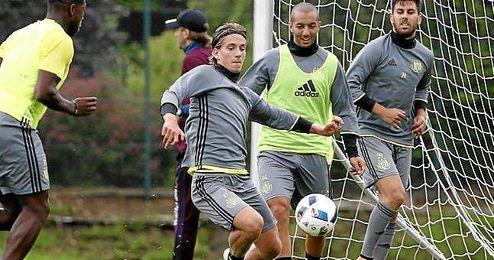 Praet ya ha iniciado la pretemporada con el Anderlecht.