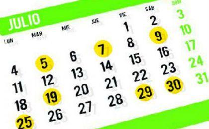 Días señalados del Betis, en el mes de julio.