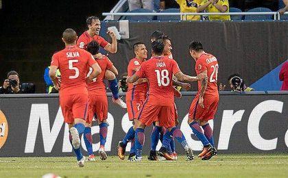 Chile jugará su segunda final consecutiva de la Copa América.