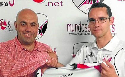 """Jorge Prieto (Mundoseguros Triana): """"Incidiremos en la cantera"""""""