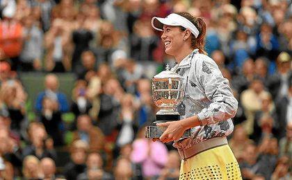 Muguruza, campeona en Roland Garros