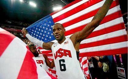 Lebron James, oro en Pekín 2008 y Londres 2012, no estará en Río 2016.