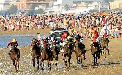 Carreras de caballos de Sanlúcar de Barrameda el pasado 2015.