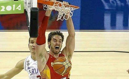 El mayor de los Gasol acudirá, si así lo estima oportuno Scariolo, a su cuarta cita olímpica.