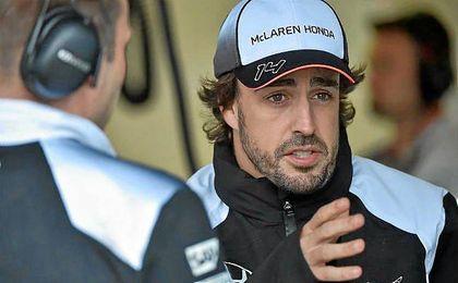 """Alonso: """"Me gusta el ambiente en el Red Bull Ring porque los aficionados son apasionados y muy expertos""""."""
