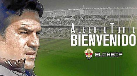 Toril, nuevo entrenador del Elche.