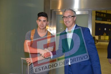 Felipe Gutiérrez ha llegado a Sevilla a la 1:30 horas.