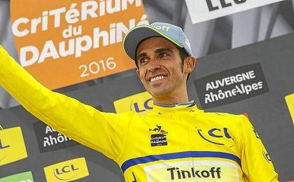 Contador llega al Tour tras disputar del Dauphiné y ser baja en el Campeonato de España.