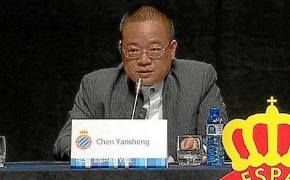 Chen Yansheng, nuevo presidente del club