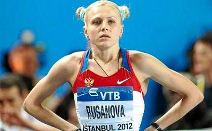 La mediofondista rusa Yuliya Stepanova.