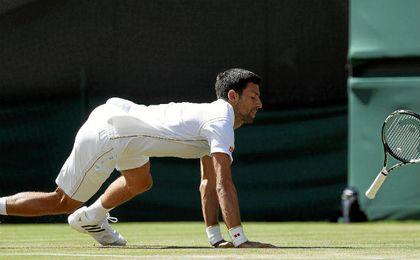 El serbio Novak Djokovic, eliminado en tercera ronda a manos del estadounidense Sam Querrey.