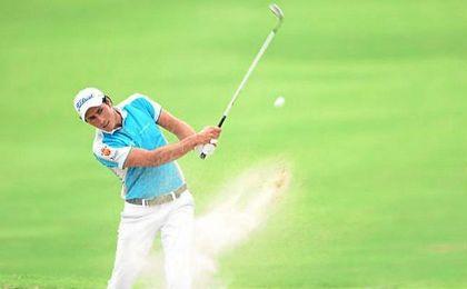 """""""Me dije a mí mismo que podía conseguir la victoria"""", aseguró el golfista español."""