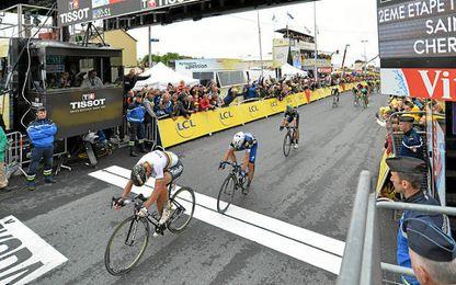 Peter Sagan se impuso en un final que picaba.