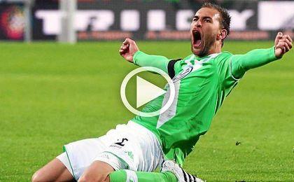 Dost ha marcado 10 goles esta temporada con el Wolfsburgo.