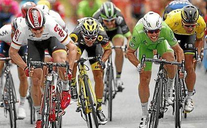 La lucha final entre Cavendish y Greipel