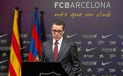 Josep Vives, portavoz del FC Barcelona.