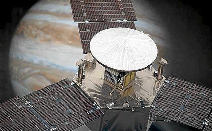 Juno recoge el testigo de la nave ´Galileo´ la cual estuvo en Júpiter durante ocho años.