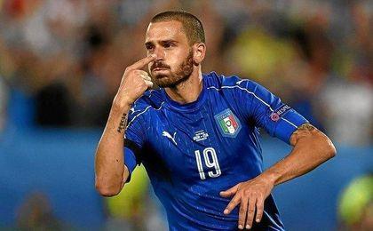 Bonucci, pilar de la Juventus e Italia