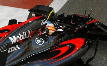 Alonso mejora su monoplaza mientras Button permanecerá con el mismo para Silverstone.