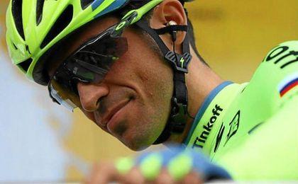 """Para Contador, la etapa del viernes """"solo fue un aperitivo""""."""