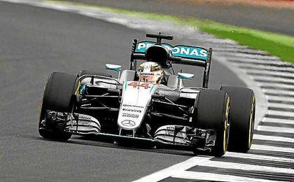 Hamilton, el más rápido en los terceros libres.
