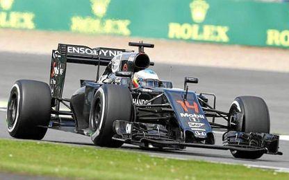 Alonso ha marcado un registro de 1:31.290.