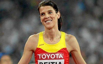 """Beitia ha destacado que ahora disfruta de una """"segunda etapa"""" en su carrera deportiva."""
