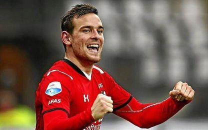 Janssen fue el máximo goleador en la pasada Eredivise, con 27 tantos.