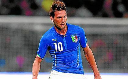 Vázquez, internacional con Italia, tiene mucha facilidad para deshacerse de la presión de los rivales.