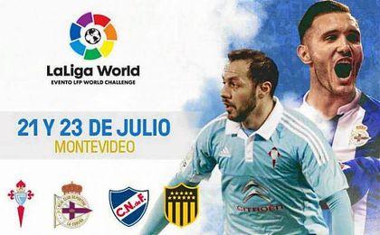 La Liga World ha planificado que el derbi gallego se juegue en Montevideo.