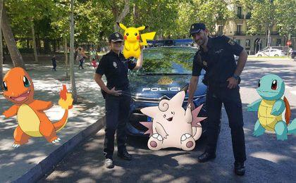 La Policía Nacional sugiere medidas de seguridad para jugar a Pokemon GO.