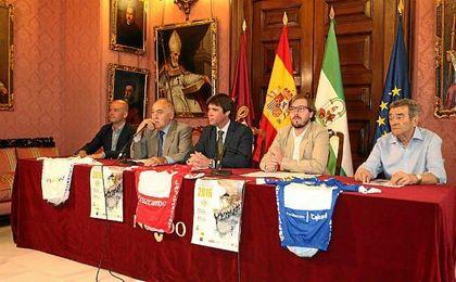 Presentaci�n de la XI Challenge Vuelta a Sevilla.