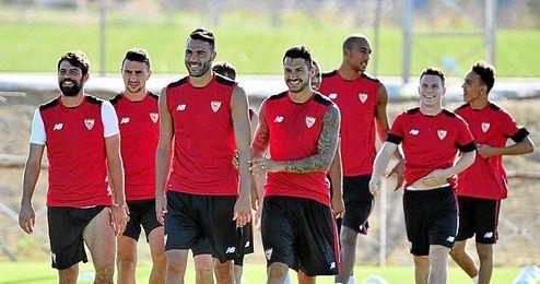 Los jugadores del Sevilla son ambiciosos.