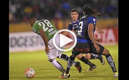 Independiente y Nacional empatan a un gol y miran a la vuelta de la final