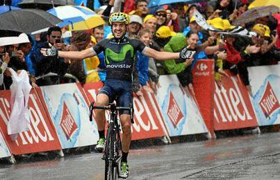 Izaguirre ganó la penúltima etapa del Tour.
