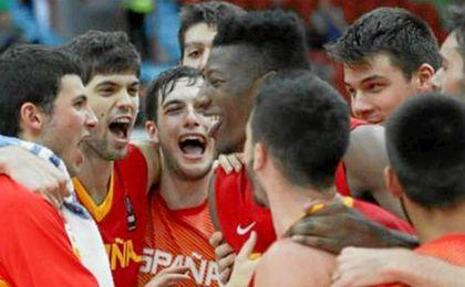 España ganó la final a Lituania y se colgó el oro.