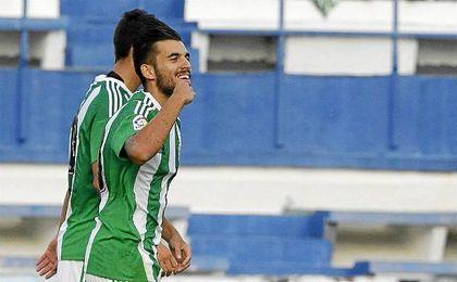 El ´10´ celebra su gol del pasado martes ante el Middlesbrough en Marbella.