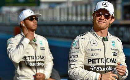 Lewis Hamilton y Nico Rosberg revivirán su duelo en GP de Alemania.