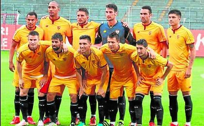 Escudero partió en el once y disputó los 90 minutos, certificando su buen encuentro con un golazo.