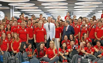 España conseguiría 18 medallas.