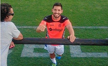 El delantero Daniel Pacheco se muestra ambicioso y promete trabajo.