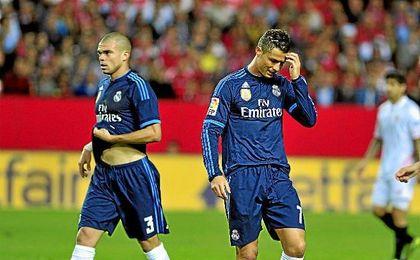 Cristiano Ronaldo y Pepe no podrán medirse al cuadro de Sampaoli en Trondheim.