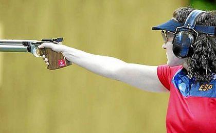 Sonia Franquet peleará por las medallas en pistola.
