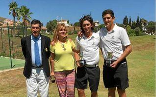 V�ctor Jim�nez y Pablo Alonso, campeones de Andaluc�a Dobles de Pitch & Putt