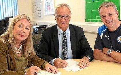 El Leicester se afianza estabilidad en el futuro renovando al mejor t�cnico de su historia.