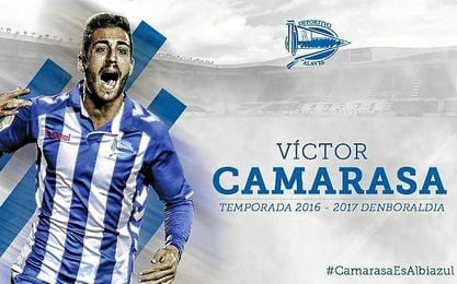 Camarasa ya es oficialmente una incorporación de los vitorianos.