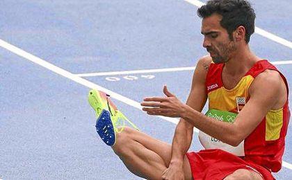 Kevin López pagó su lesión en Río.