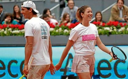 Nadal y Garbi�e no seguir�n compitiendo juntos en estos Juegos.