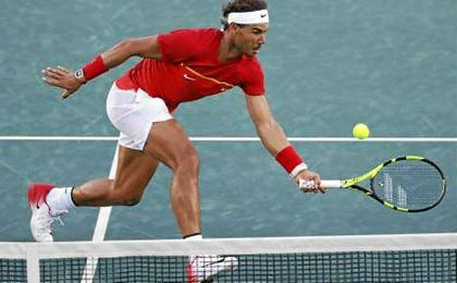 Rafa Nadal volvió a darlo pero se quedó sin medalla de bronce